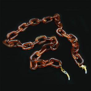 Акрополис А-90/09 Цепочки для очков, коричневый янтарь